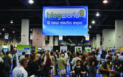 Blogworld 2010 show floor