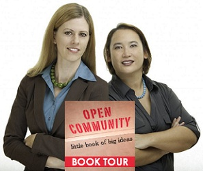 Maddie Grant and Lindy Dreyer Open Community Book Tour