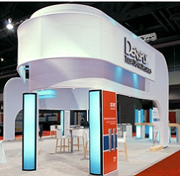 dentsply custom modular trade show exhibit