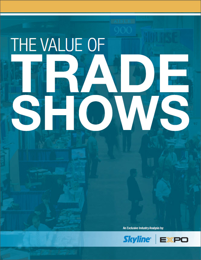 The Value of Trade Shows new white paper