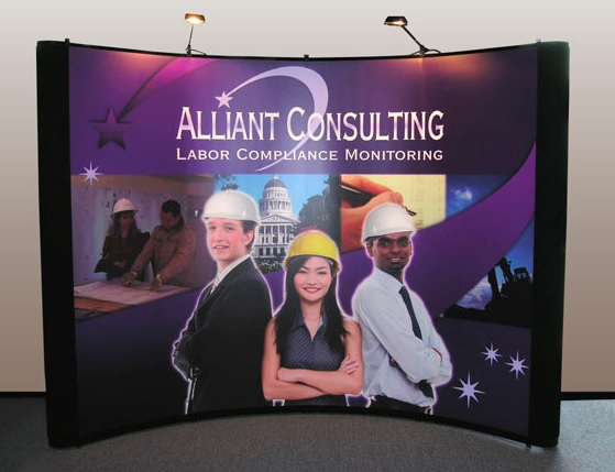 Alliant Consulting Pop Up Display