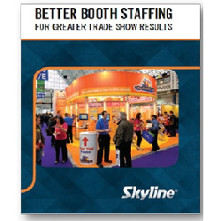 FREE NEW BOOK: Better Booth Staffing for Greater Trade Show Results