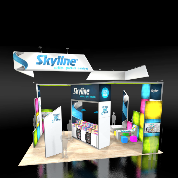 """Get What You Want!"" From Skyline Exhibits At EXHIBITORLIVE!"